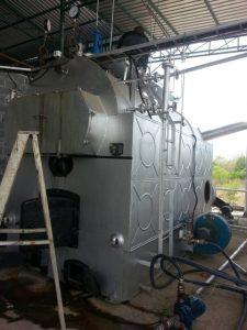 ซ่อมบำรุงล้างตะกรันหม้อไอน้ำ