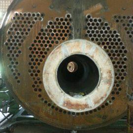 เปลียนท่อไฟเหล็กและปล่องบอยเลอร์